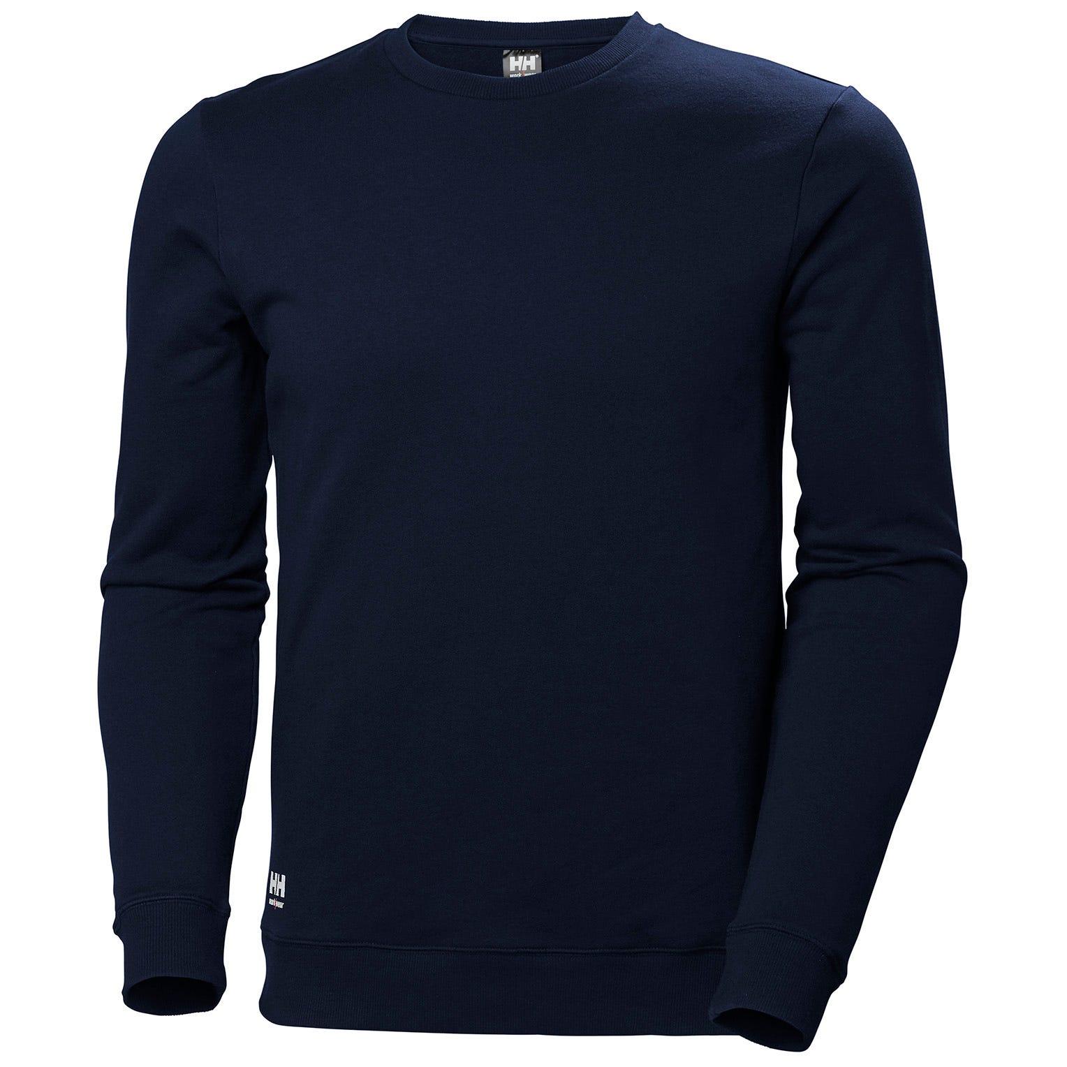 HH Workwear Workwear Helly Hansen Manchester SweaMaglietta XS Navy