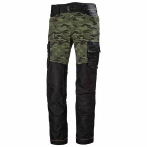 HH Workwear Helly Hansen Pantaloni Di Servizio Chelsea Evolution C46 Verde