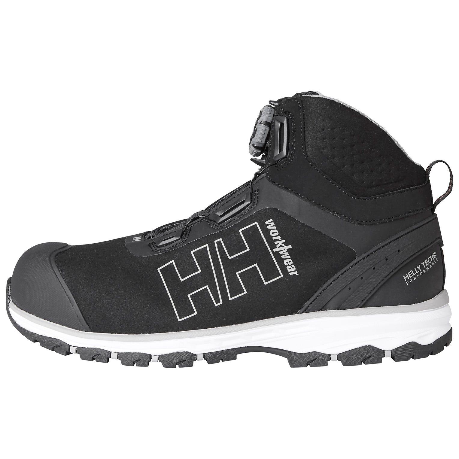 HH Workwear Workwear Helly Hansen Chelsea Evolution Mid Boa Wide Safety Shoes 44 Grigio