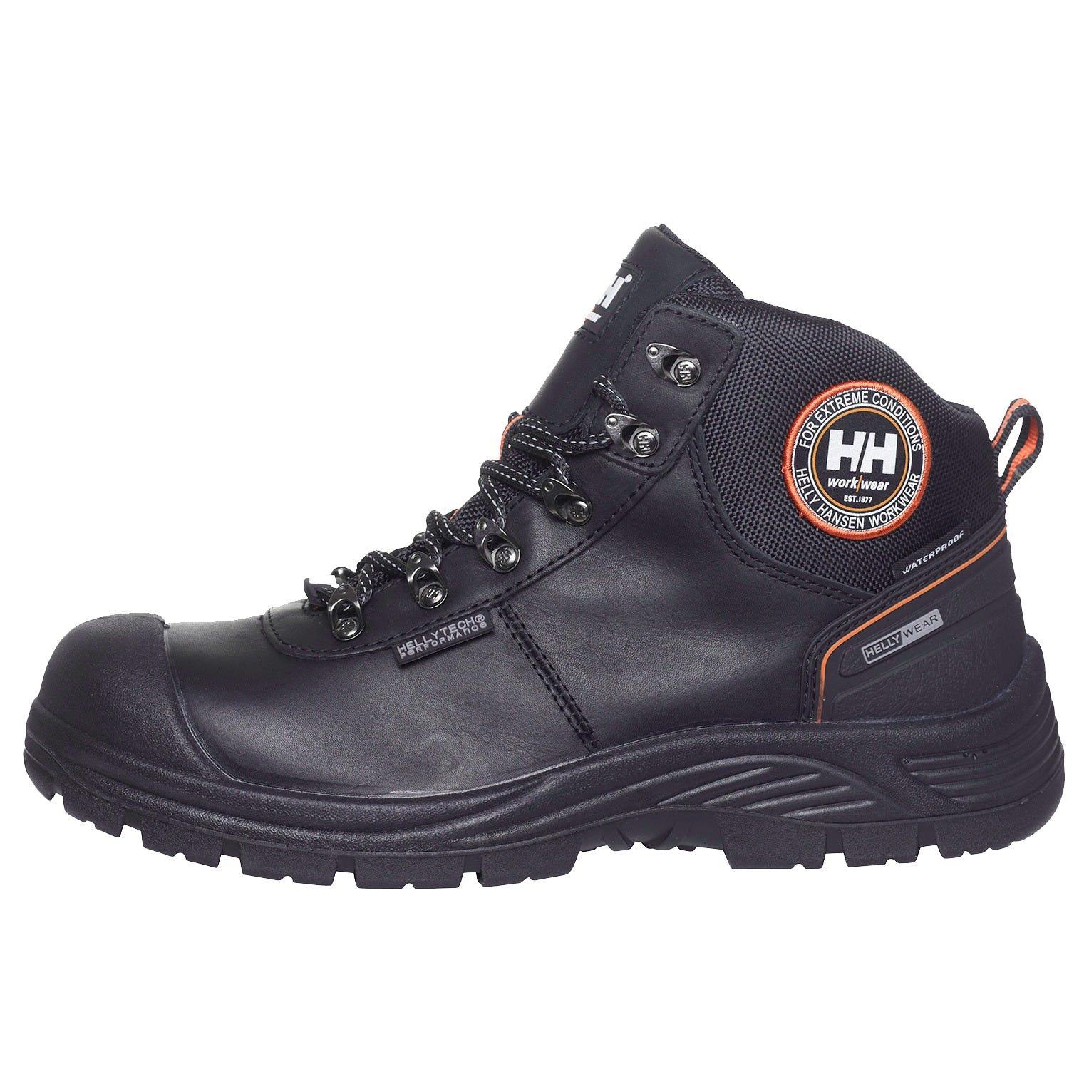 HH Workwear Workwear Helly Hansen Scarpa Mid Antinfortunistica Chelsea Certificata S3 Impermeabile Con Punta In Materiale Composito 43 Nero