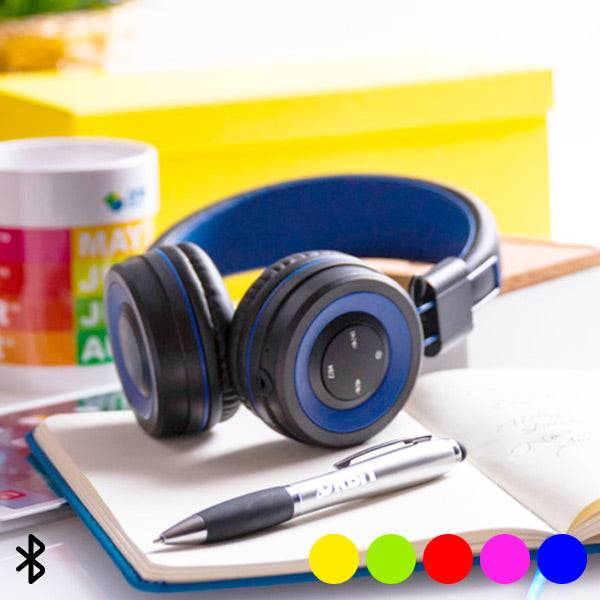 BigBuy Tech Bluetooth Headphones With Hands-Free And Integrated Control Panel 145562