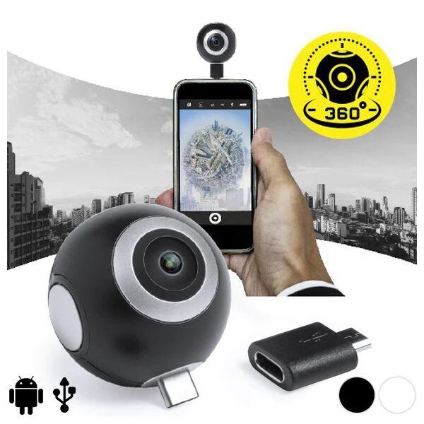 BigBuy Tech 360º Camera For Smartphone Hd 145771