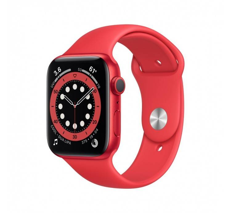 Apple Watch Watch Series 6 GPS 40mm Rosso Aluminum Case with Sport Band Rosso Europa
