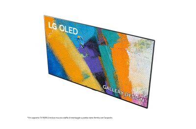 "LG OLED 2020 ZERO ORE : 77GX6LA 77"" Serie GX - OLED 4K Gallery Design Dolby Atmos - GARANZIA 24 MESI ITALIA 77GX"