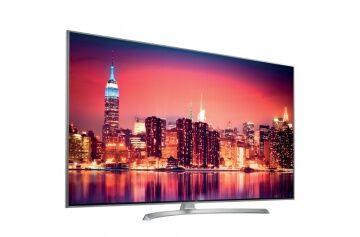 LG Smart Tv 65SJ810V Led 65'' 4K Super Ultra HD Dvb-T2 HEVC Classe A+ WiFi Hdmi Usb CI+ Silver Bianco- 2017 - NANO CELL - RIMANENZA MAGAZZINO GARANZIA 24 MESI (Italia)