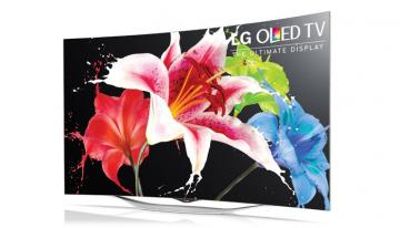 "LG SALDI 2017 OLED: LG 55EC930v TV Oled 55"" Curvo 3D Wi-Fi Smart TV EC 930 ( Italia ) 300 ORE"