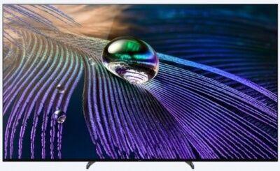 "Sony OLED 2021 NUOVO SIGILLATO : XR 55A90J 55"" Tv Oled Smart TV OLED 55 pollici, 4K ultra HD, HDR, con Google TV - GARANZIA 24 MESI SONY ITALIA"