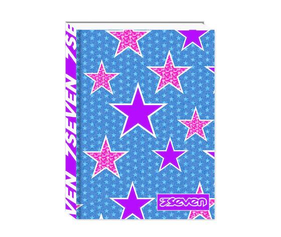 seven diario scolastico  standard paper covers-1 girl