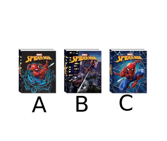 seven diario scuola spider-man