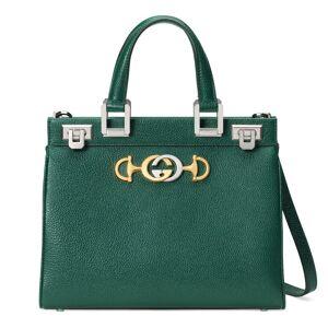 Gucci Borsa a mano Gucci Zumi in pelle martellata misura piccola Verde