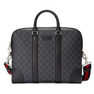 Gucci Portadocumenti in tessuto GG Supreme Nero