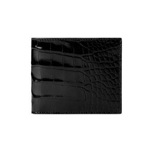 Gucci Portafoglio bi-fold in coccodrillo