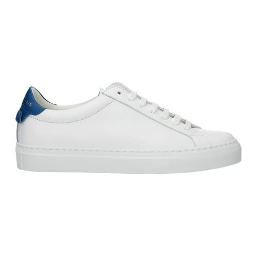 Givenchy Sneakers urban street Donna Pelle Bianco Blu 35