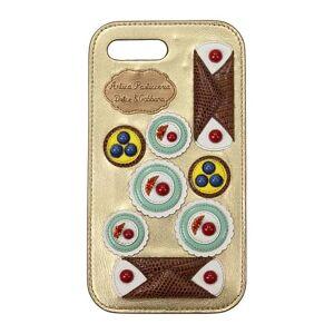 Dolce&Gabbana Porta iPhone Dolce&Gabbana iphone 7/8 plus Donna Oro