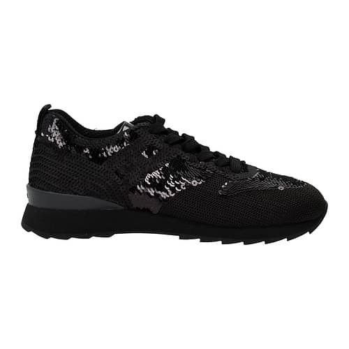 Hogan Sneakers Donna Paillettes Nero 40