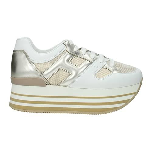 Hogan Sneakers Donna Pelle Bianco 36