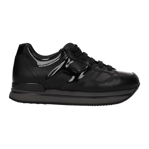 Hogan Sneakers Donna Pelle Nero 39