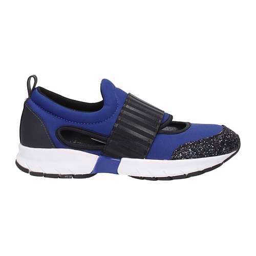 Armani Jeans Sneakers Donna Tessuto Blu 37