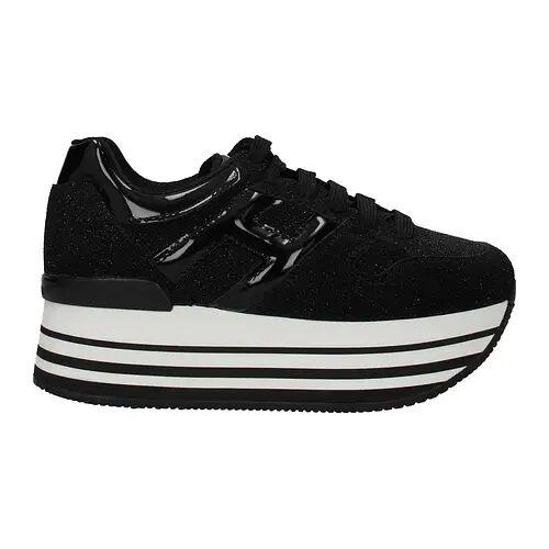 Hogan Sneakers Donna Glitter Nero 36