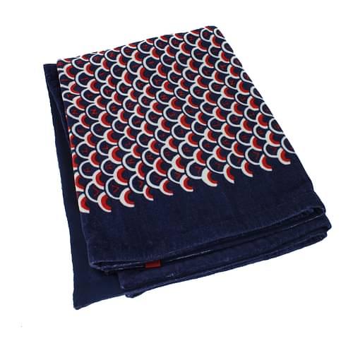 Valentino Teli Mare Donna Cotone Blu One Size