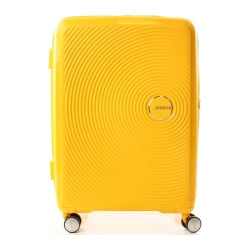 American Tourister Trolley soundbox 71.5/81l Donna Polipropilene Giallo One Size