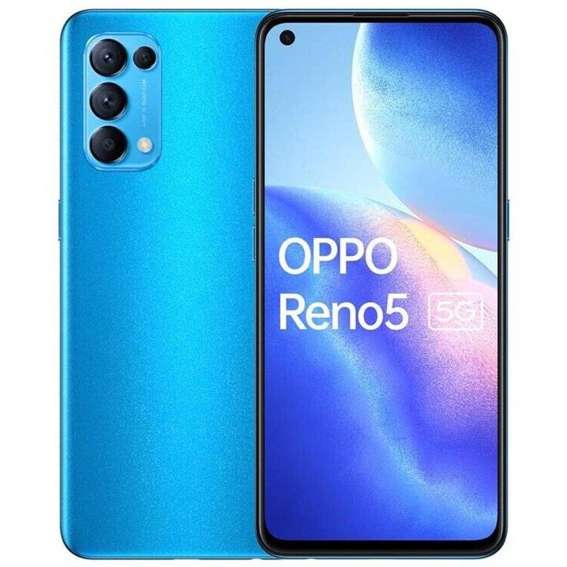 Oppo Reno5 5G Dual Sim 8GB RAM 128GB - Astral Blu