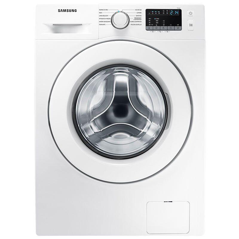 Samsung WW6NJ42E0LW lavatrice Libera installazione Caricamento frontale 6 kg 1200 Giri/min E Bianco Italia