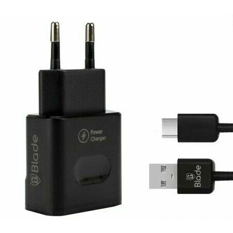 Caricabatterie rapido Blade + Type-C - Cavo USB
