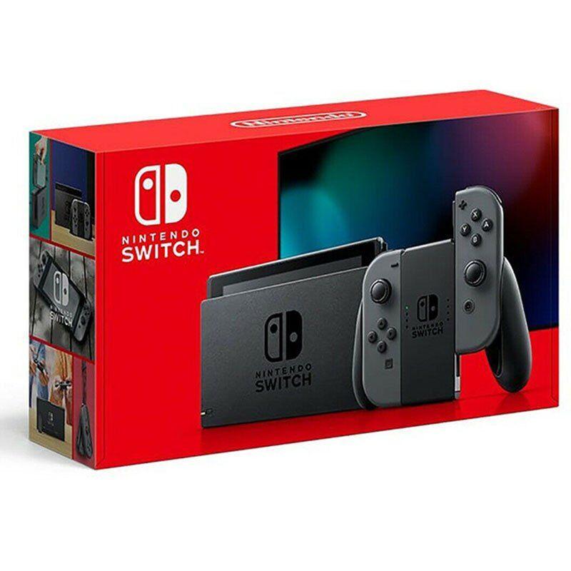 nintendo switch v2 - 32 gb grey