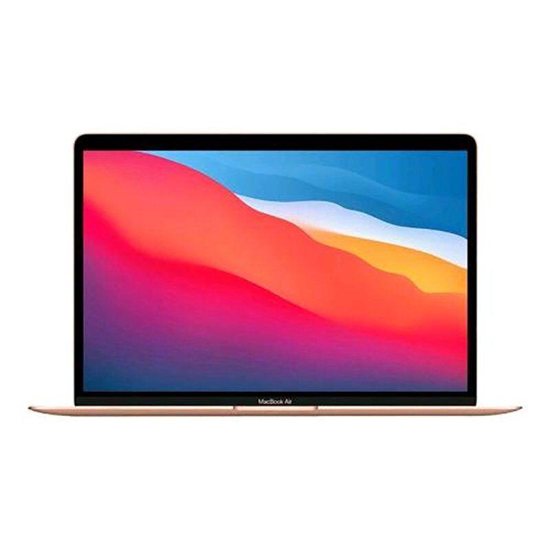 """Apple MACBOOK AIR 13 2020 13.3"""" CHIP M1 CPU 8-CORE E GPU 7-CORE-RAM 8GB-SSD 256GB ITALIA Gold"""