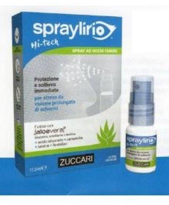 ZUCCARI Srl Zuccari Spraylirio Hi-Tech Collirio In Spray Per Occhi Esposti A Schermi 12,5ml