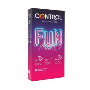 CONTROL L Preservativi Feel Fun Mix 6 Uds