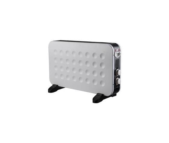effe termoconvettore k240 bianco/grigio 750/1250 /2000 w