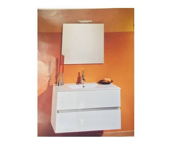 progetto idea stella harmony 100 mobile bagno  bianco lucido