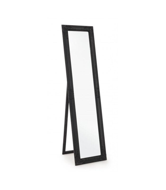 Arredinitaly Outlet Specchio St Miro C-c Nero Opaco 40x160, Idee Per La Casa Da Arredinitaly