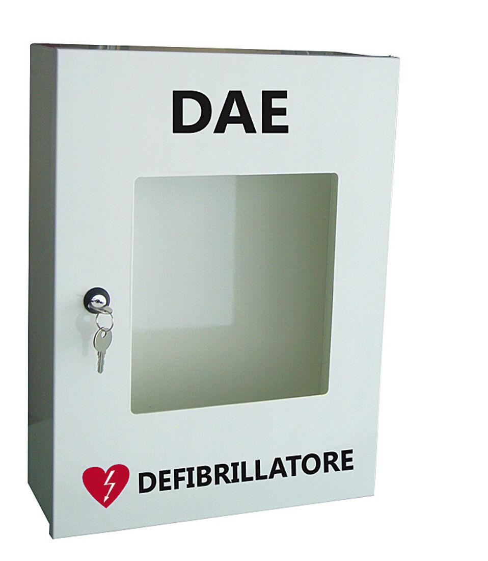 Armadio In Metallo Per Defibrillatore