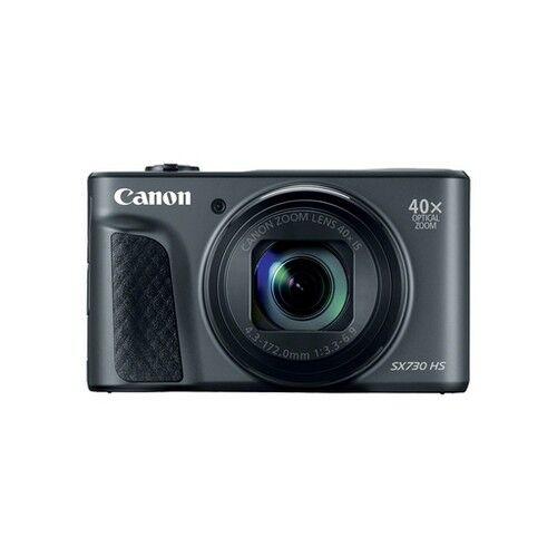 canon fotocamera compatta canon powershot sx730 black - prodotto in italiano