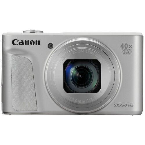 canon fotocamera compatta canon powershot sx730 hs silver - prodotto in ital