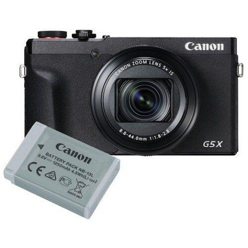 canon fotocamera compatta canon powershot g5x mark ii + batteria - prodotto