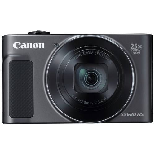 canon fotocamera compatta canon powershot sx620 hs black - prodotto in itali