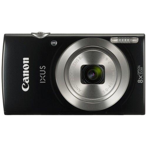 canon fotocamera compatta canon ixus 185 black - prodotto in italiano