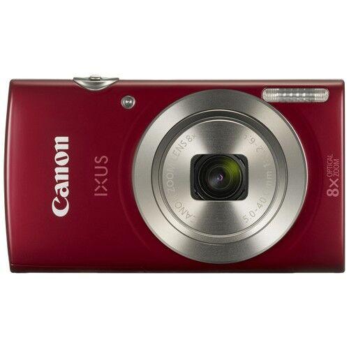 canon fotocamera compatta canon ixus 185 red - prodotto in italiano