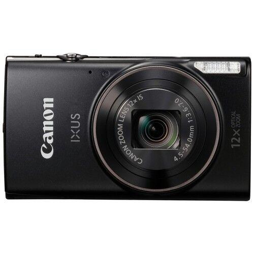 canon fotocamera compatta canon ixus 285 hs black - prodotto in italiano