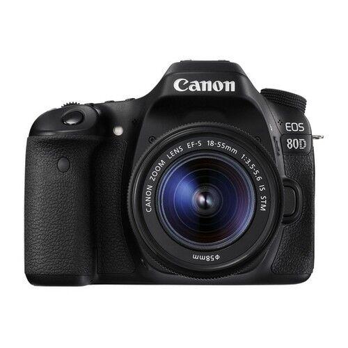 Canon Kit Fotocamera Reflex Canon EOS 80D + Obiettivo 18-55mm IS STM - Prodo
