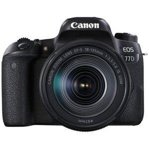 Canon Kit Fotocamera Reflex Canon EOS 77D + Obiettivo 18-135mm IS USM - Prod
