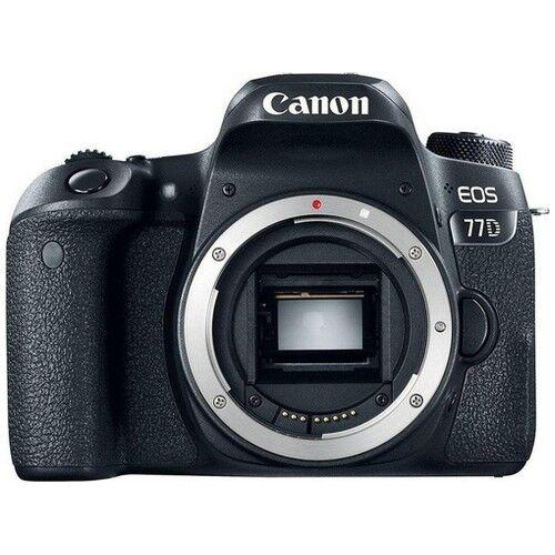 Canon Fotocamera Reflex Canon EOS 77D - Prodotto in Italiano