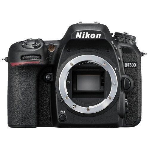 nikon fotocamera reflex nikon d7500 - prodotto in italiano