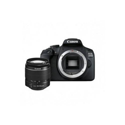 Canon Kit Fotocamera Reflex Canon EOS 2000D + Obiettivo 18-55mm DC III - Pro