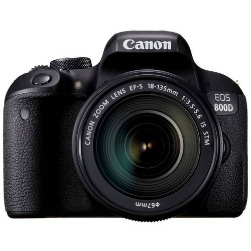 canon fotocamera reflex canon 800d + obiettivo 18-135mm is stm - prodotto in