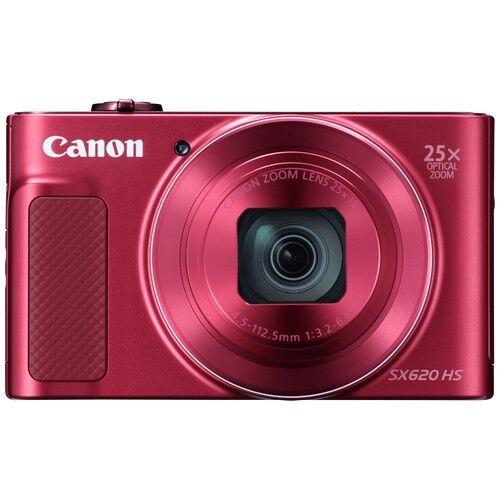 Canon Fotocamera Compatta Canon Powershot SX620 HS Red - Prodotto in Italian